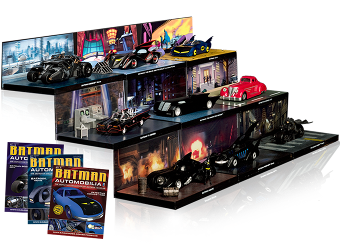 Batman Automobilia | Comic Heroes - Eaglemoss