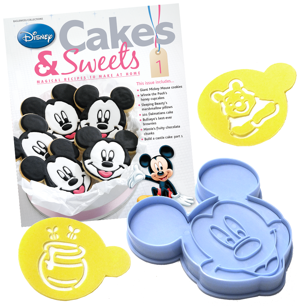 Disney Cakes Amp Sweets Crafts Amp Cooking Eaglemoss