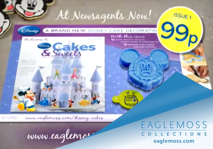 Disney Cakes - TV ad thumbnail