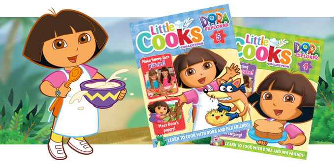 Dora Little Cooks Collection