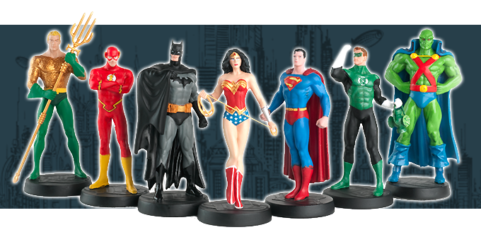 COLECCION DE SUPERHEROES DE DC COMICS