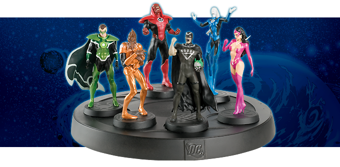 DC Comics Super Hero Collection: Blackest Night Brightest Day