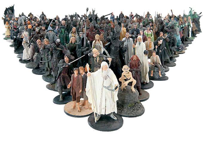 Lord of the Rings Figurine Collection