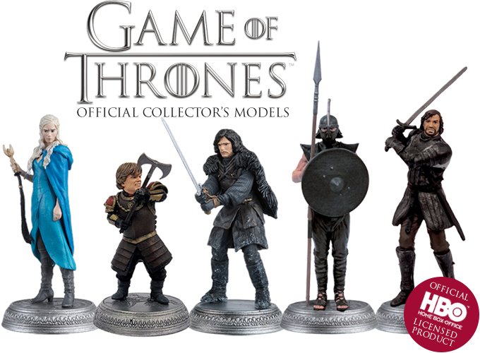 Game of Thrones Offizielle Sammlermodelle