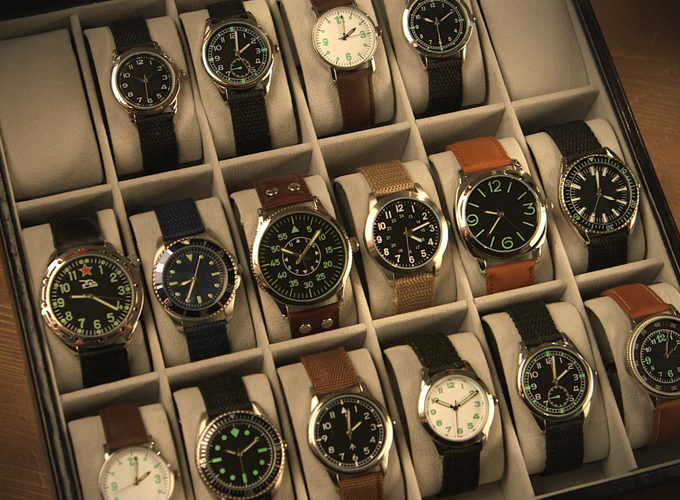 Military Watches boxset
