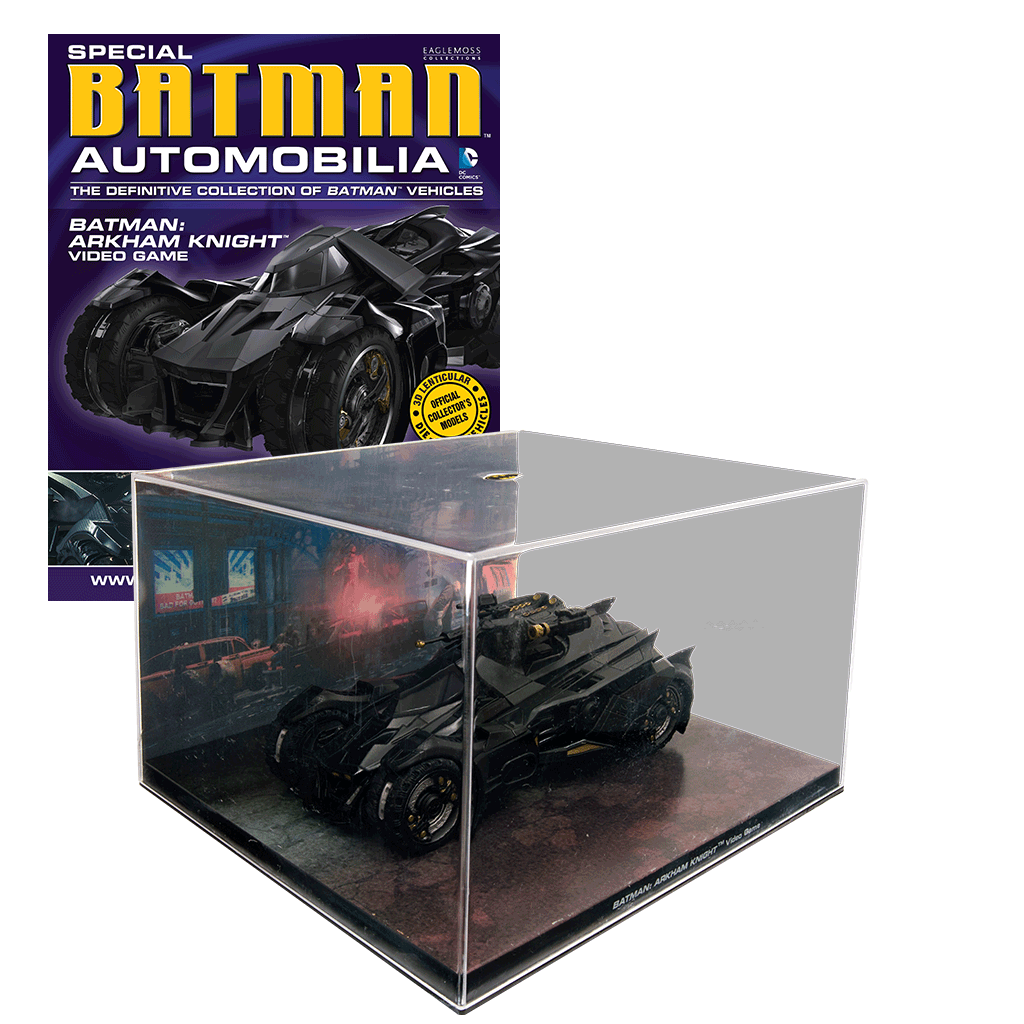 Batman Arkham Knight Batcave: Comic Heroes - Eaglemoss