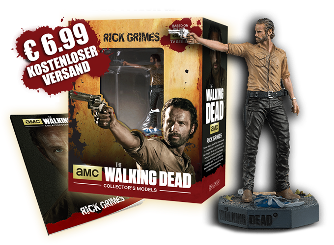 Jetzt neu:  THE WALKING DEAD® Collector's Models
