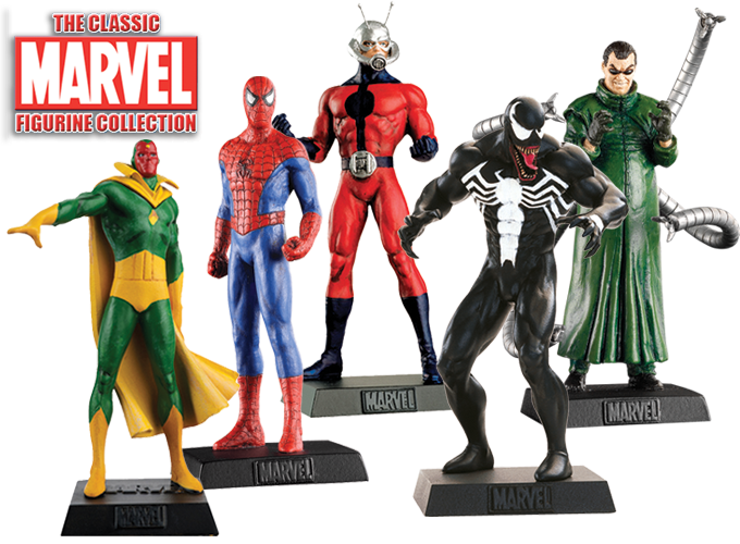 The classic marvel figurine collection new edition comic heroes
