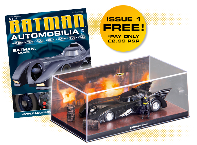 The ultimate Batman Automobilia Collection