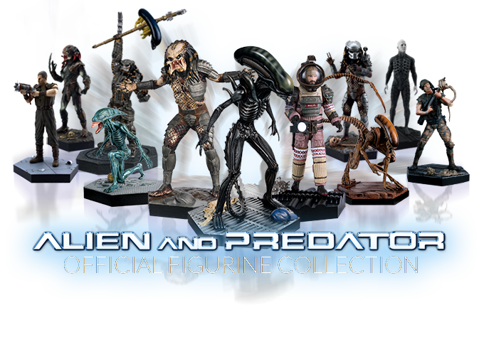Alien and Predator Official Figurine Collection is now here