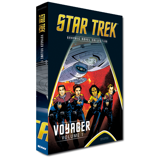 Science Fiction Graphic Novels: Star Trek The Graphic Novel Collection