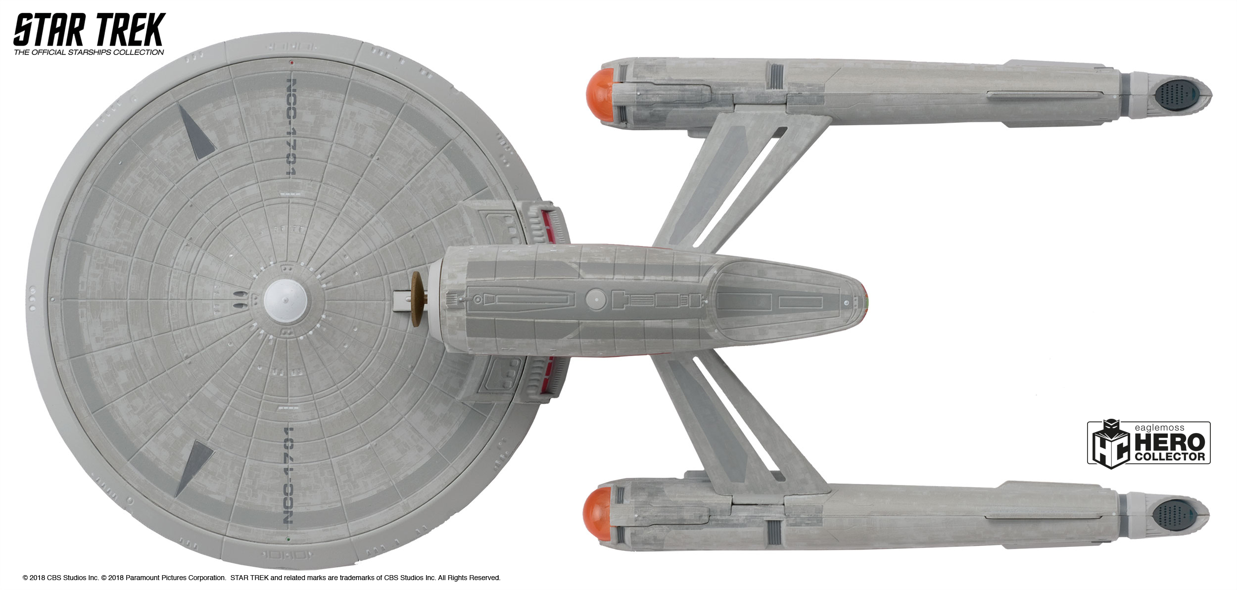 U.S.S Star Trek The Official Starships Collection Discovery XL ...