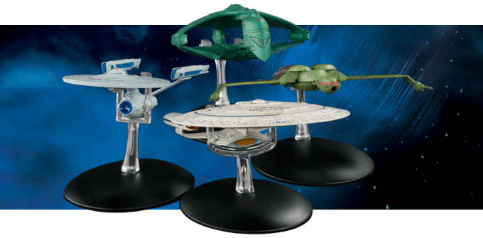 Star Trek La Collection Officielle des Vaisseaux Spatiaux