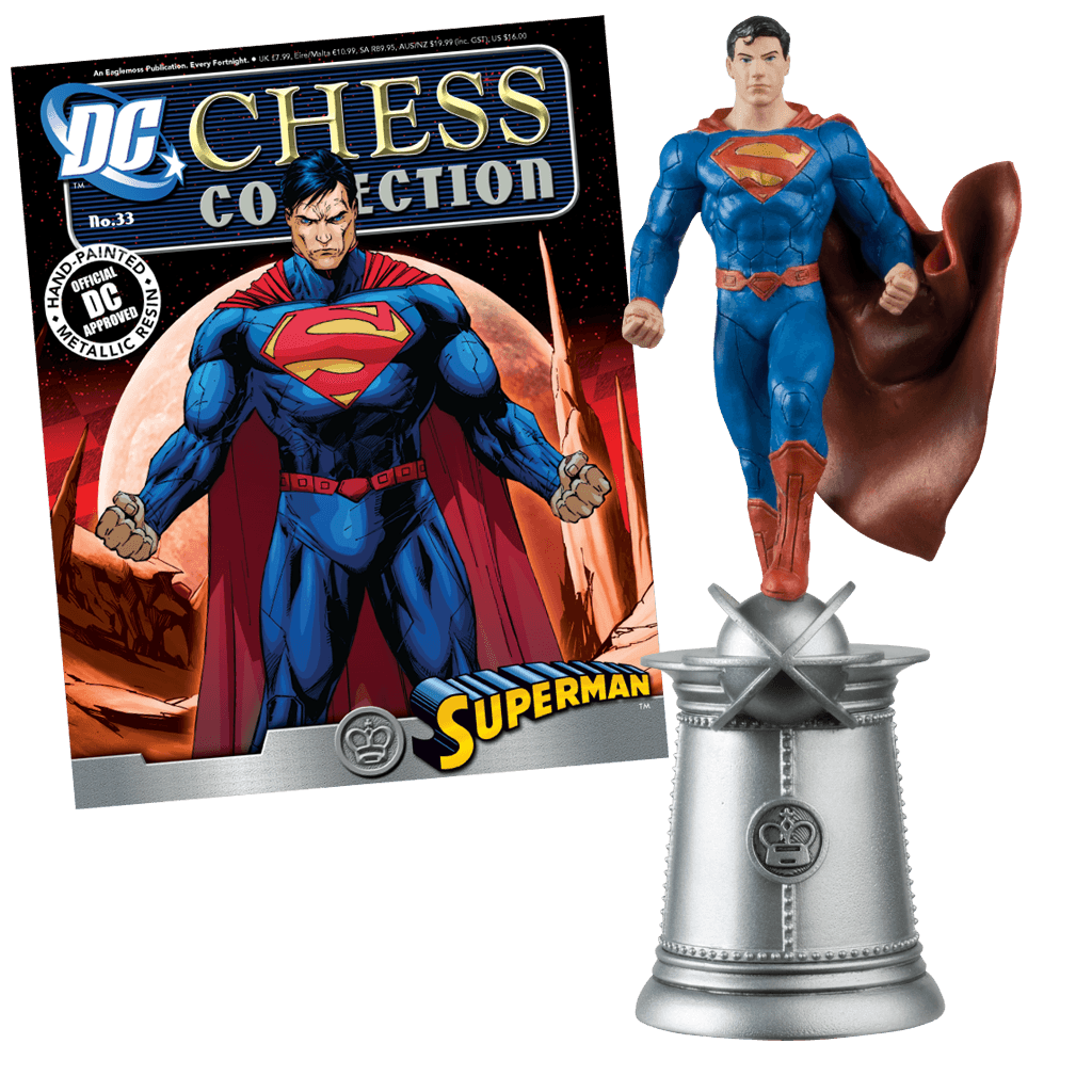 DC Chess Collection | Comic heroes - Eaglemoss