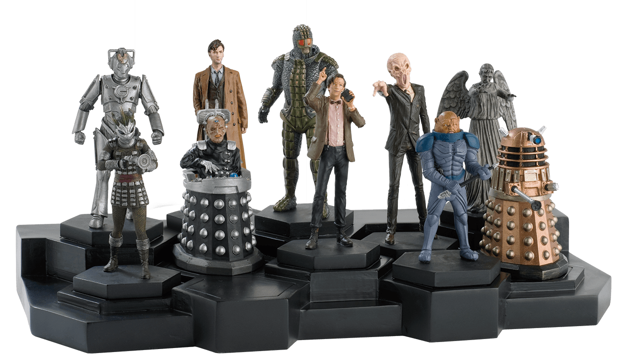 Eaglemoss collection in pictures the Doctors Original