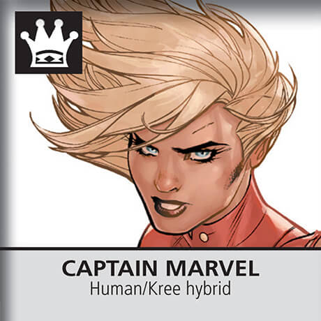 Marvel Chess Captain Marvel