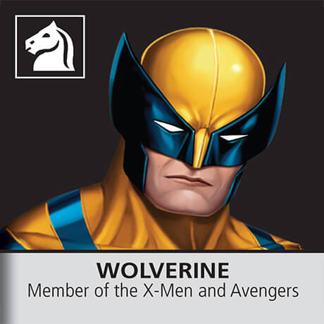 Marvel Chess Wolverine