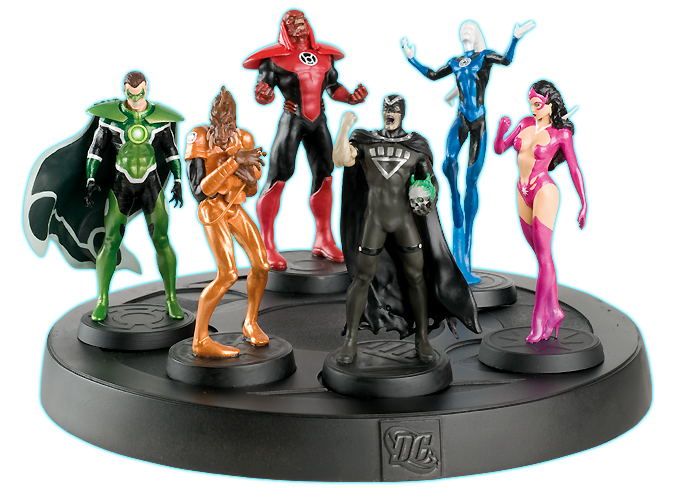 ... Collection: Blackest Night Brightest Day | Comic heroes - Eaglemoss
