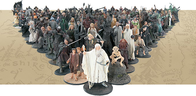 Les Figurines Hobbit