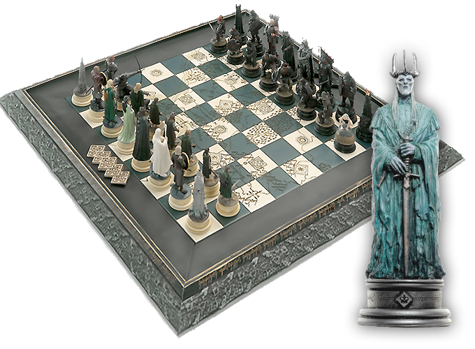 Lord of the Rings Chess Collection | Sci-Fi & Fantasy ...