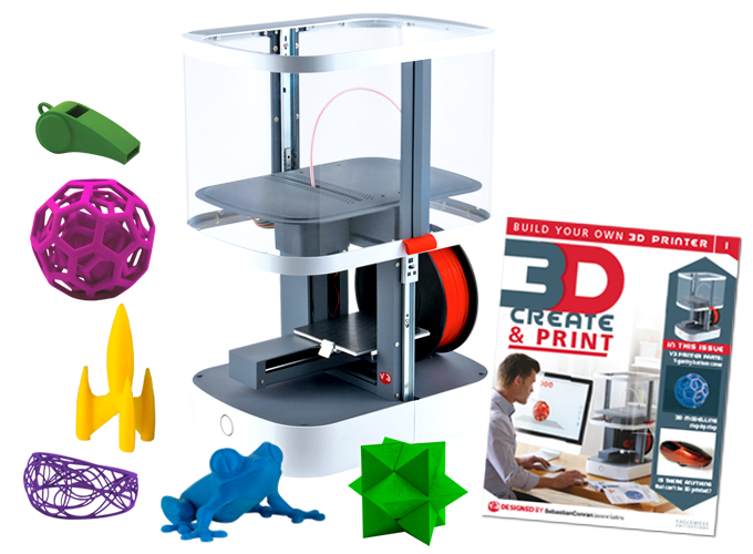 3d create print technology eaglemoss for 3d building creator