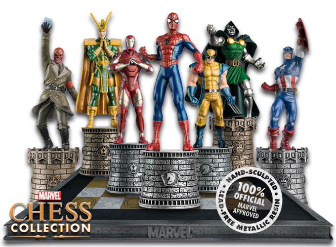 Marvel Chess | Comic heroes - Eaglemoss