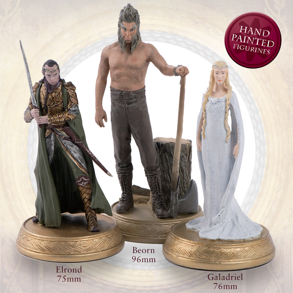 the official hobbit figurine collection sci fi fantasy