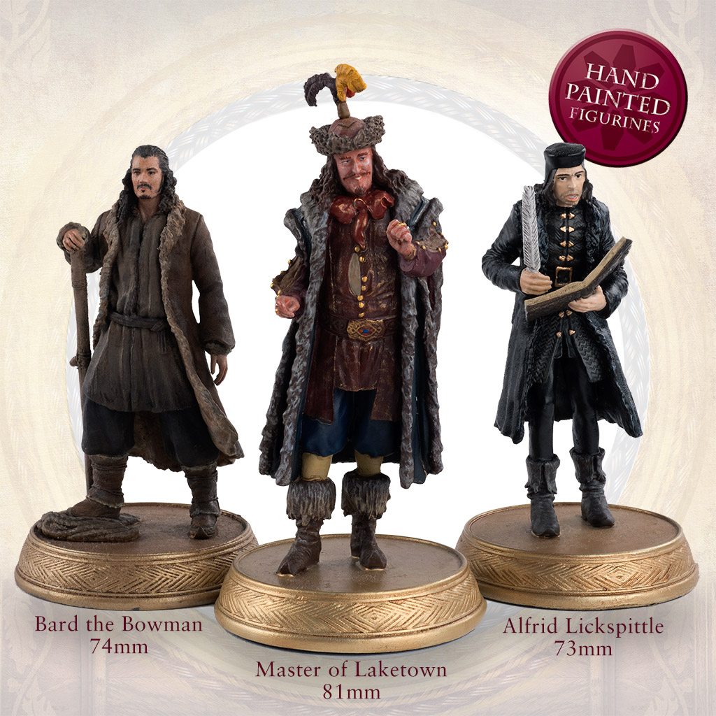 the official hobbit figurine collection sci fi fantasy eaglemoss