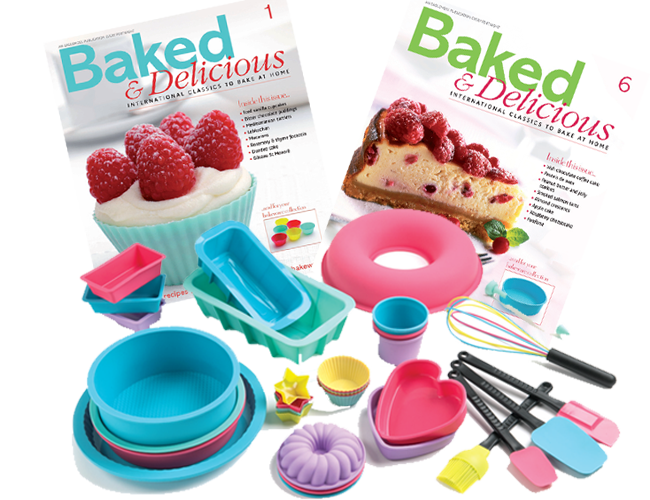 Baked & Delicious Magazines