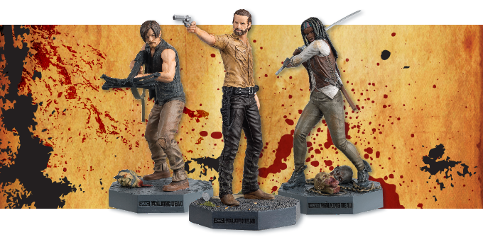 The Walking Dead Collector's Models