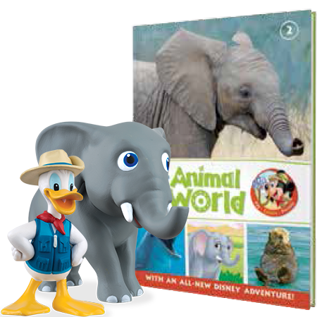 Disney Animal World Kids Eaglemoss