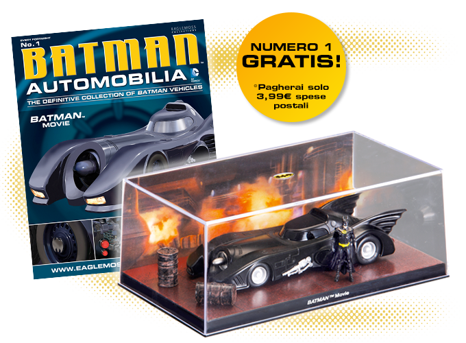 La nuovissima Batman Automobilia Collection