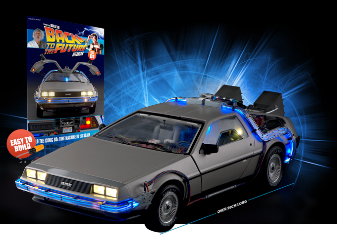 Build The Back To The Future Delorean Model Making