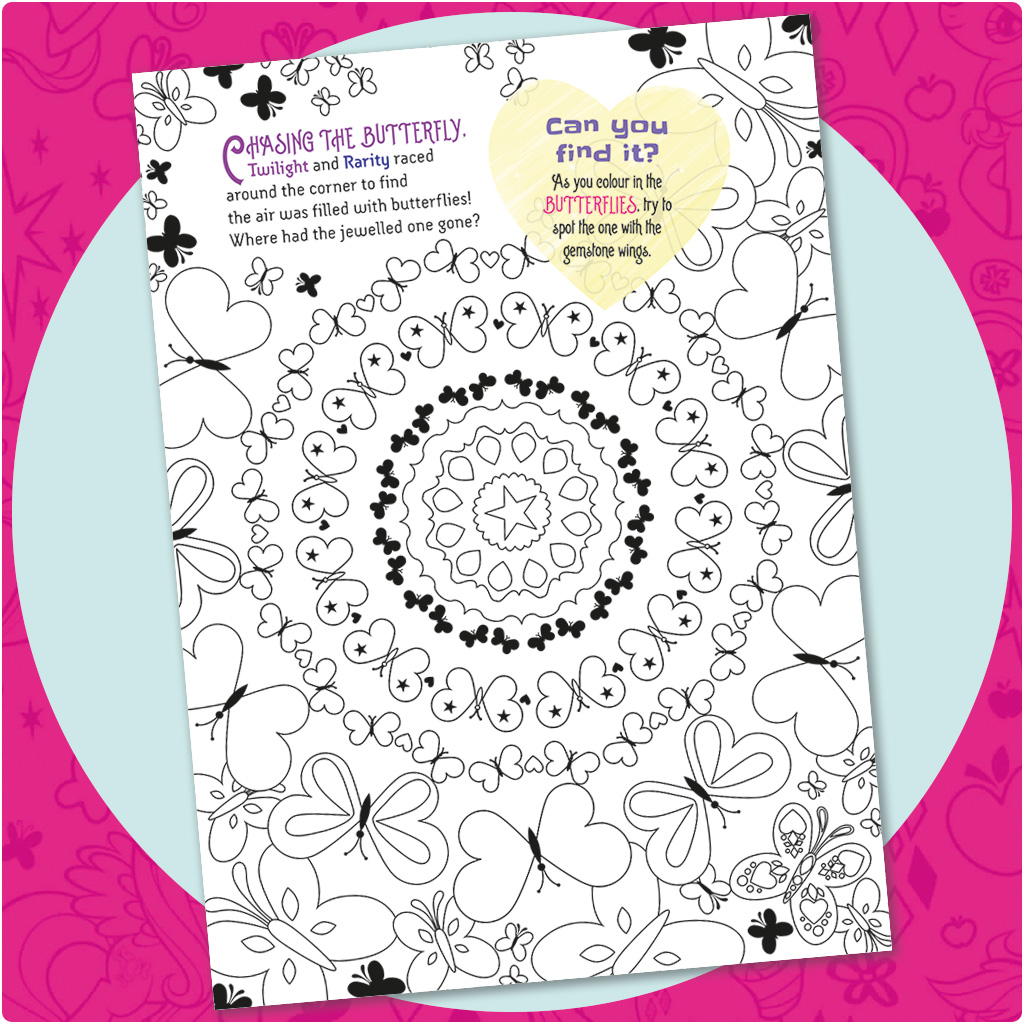 My little pony colouring book australia - Mlp Colouring Activity1